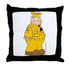 Sergeant Snorkel Throw Pillow