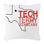 Tech Terry Lubbock Woven Throw Pillow