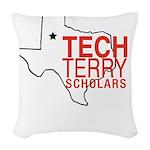 Tech Terry Lubbock Woven Throw Pillow