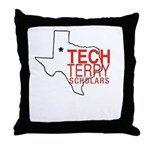 Tech Terry Lubbock Throw Pillow