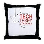 Tech Terry Lubbock Throw Pillow