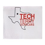Tech Terry Lubbock Throw Blanket