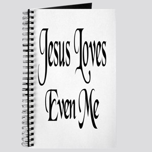 Jesus Loves Even Me Journal