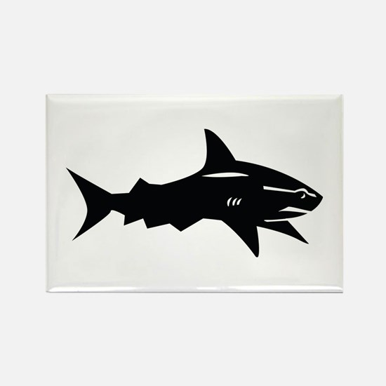 black shark Rectangle Magnet