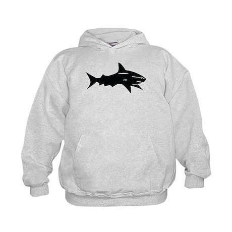 black shark Kids Hoodie