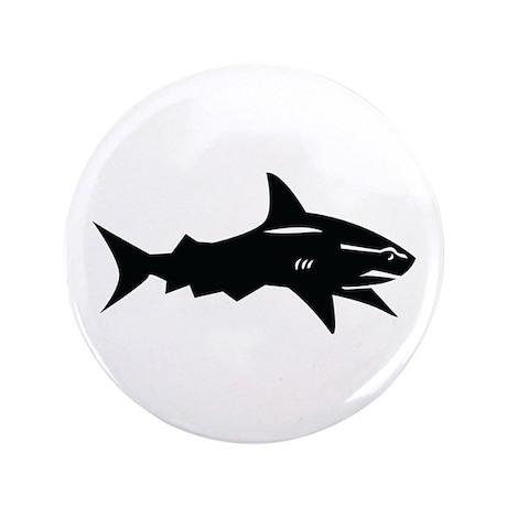 """black shark 3.5"""" Button (100 pack)"""