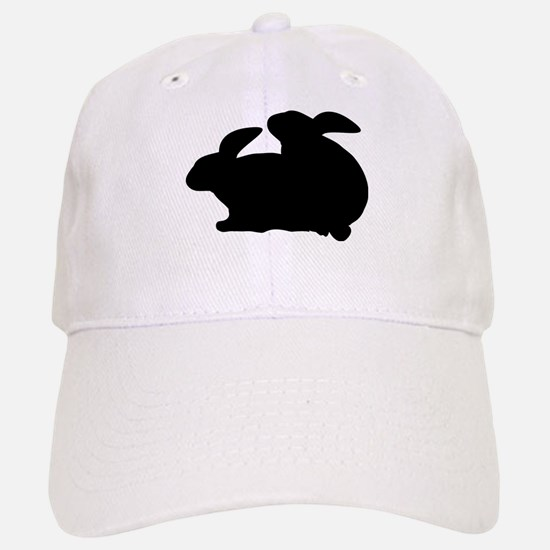 rabbits in love Baseball Baseball Cap