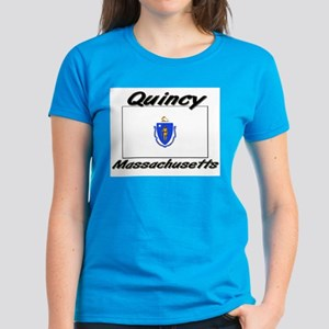 Quincy Massachusetts Women's Dark T-Shirt