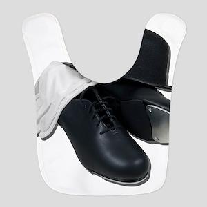 TapShoesBowlerGloves012511 Polyester Baby Bib