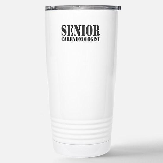 Sr Carryonologist Stainless Steel Travel Mug