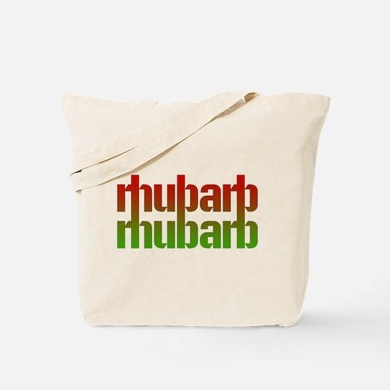 rhubarb Tote Bag