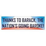 Thanks To Barack Bumper Sticker (10 pk)