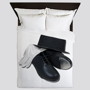 TapShoesBowlerGloves012511 Queen Duvet