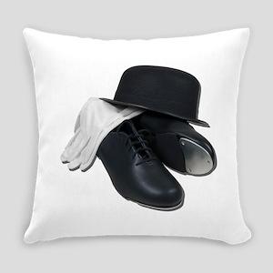 TapShoesBowlerGloves012511 Everyday Pillow