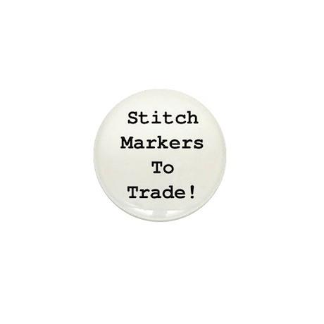 Stitch Marker Trader's Button - Mini