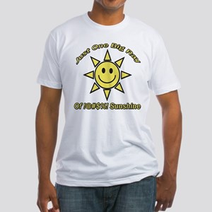 Ray Of Sunshine Fitted T-Shirt