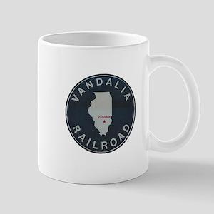Vandalia Illinois Railroad Mugs