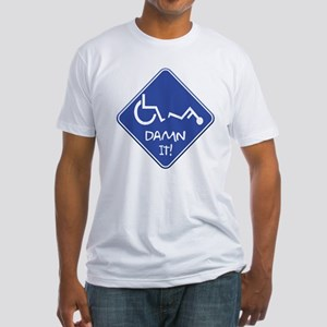 Handi-Trouble Fitted T-Shirt