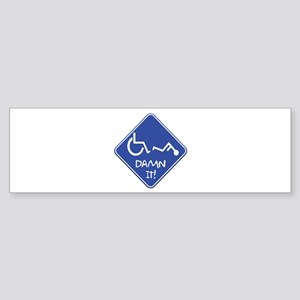 Handi-Trouble Bumper Sticker