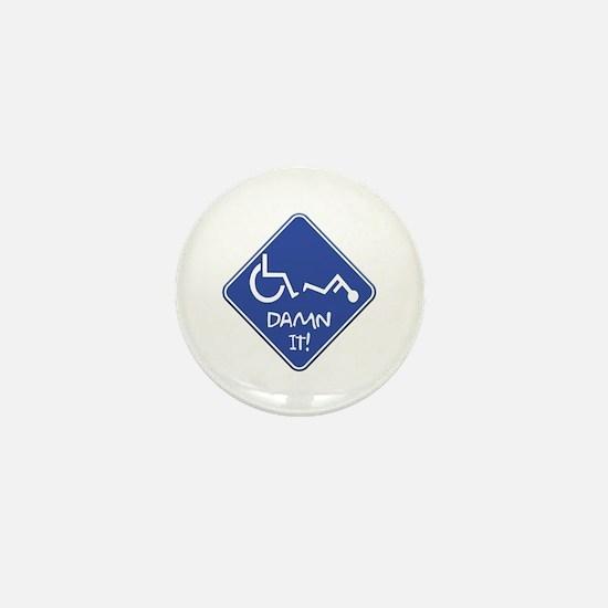 Handi-Trouble Mini Button