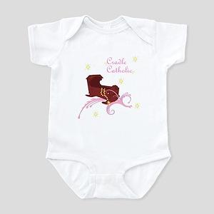 Girl Cradle Catholic Infant Bodysuit