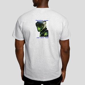 Ash Grey T-Shirt -Fear and Hesitation