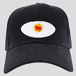 Chinese New Year 2019 Year of Black Cap with Patch