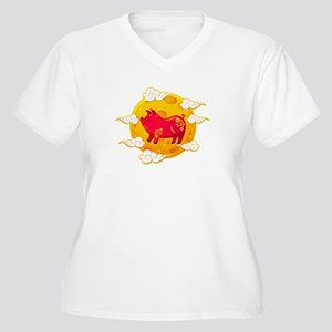 Chinese New Year 2019 Year of th Plus Size T-Shirt