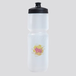 Chinese New Year 2019 Year of the Pi Sports Bottle