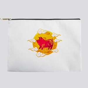 Chinese New Year 2019 Year of the Pig D Makeup Bag