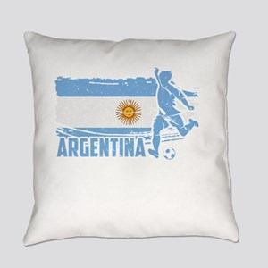 Football Worldcup Argentina Argent Everyday Pillow