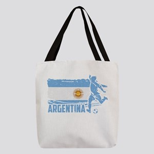 Football Worldcup Argentina Arg Polyester Tote Bag