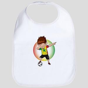 Football Dab Senegal Senegalese Footballe Baby Bib