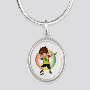 Football Dab Senegal Senegalese Football Necklaces
