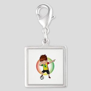 Football Dab Senegal Senegalese Footballer Charms
