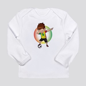 Football Dab Senegal Senegales Long Sleeve T-Shirt