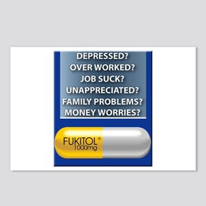 Fukitol Postcards (Package of 8)