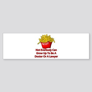 Not Everyone Can Grow Up... Bumper Sticker