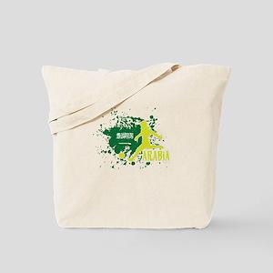 Football Worldcup Saudi Arabia Saudis Ara Tote Bag