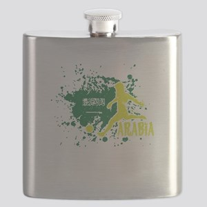 Football Worldcup Saudi Arabia Saudis Arabia Flask