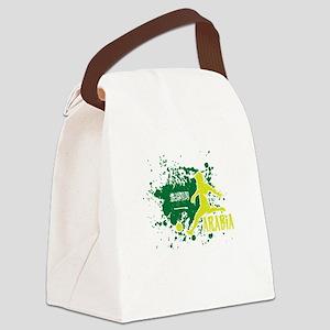 Football Worldcup Saudi Arabia Sa Canvas Lunch Bag