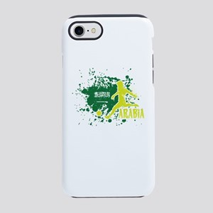 Football Worldcup Saudi Arab iPhone 8/7 Tough Case