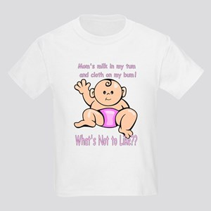 Tum Bum Pink Kids T-Shirt