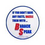 "Dazzle BS 3.5"" Button (100 pack)"