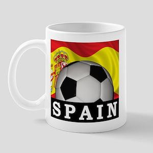 Spain Football Mug