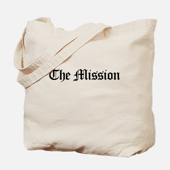 The Mission (light version) Tote Bag