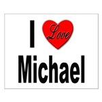 I Love Michael Small Poster