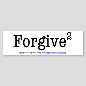 Forgive (Power of 2) Bumper Sticker