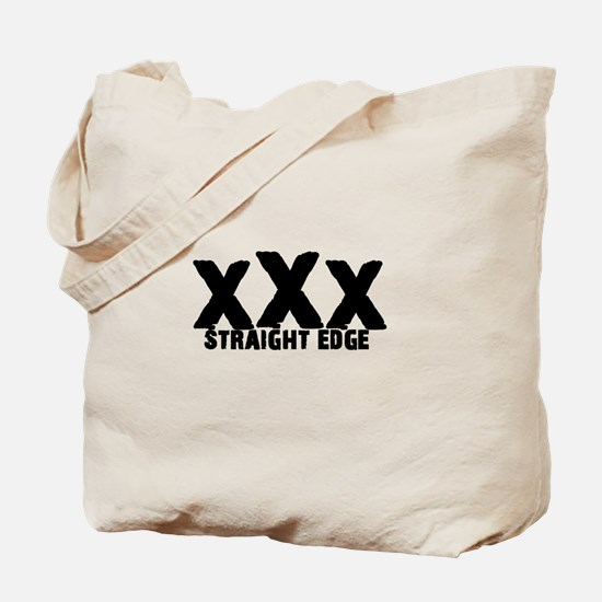 xXx Straight Edge Tote Bag
