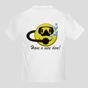 Have a Nice Dive w/ Flag Kids Light T-Shirt